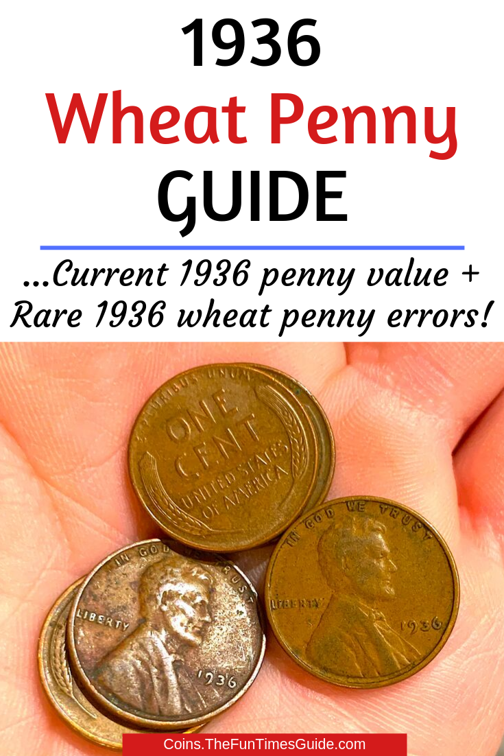 Did You Know There S A 1936 Wheat Penny Worth 5 000 See Which 1936 Pennies Are Worth The Most Money Rare Coins Worth Money Penny Values Coins Worth Money