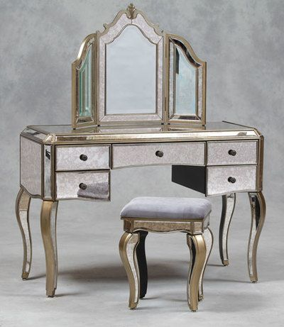 Image Result For Mirrored Dressing Tables With Drawers