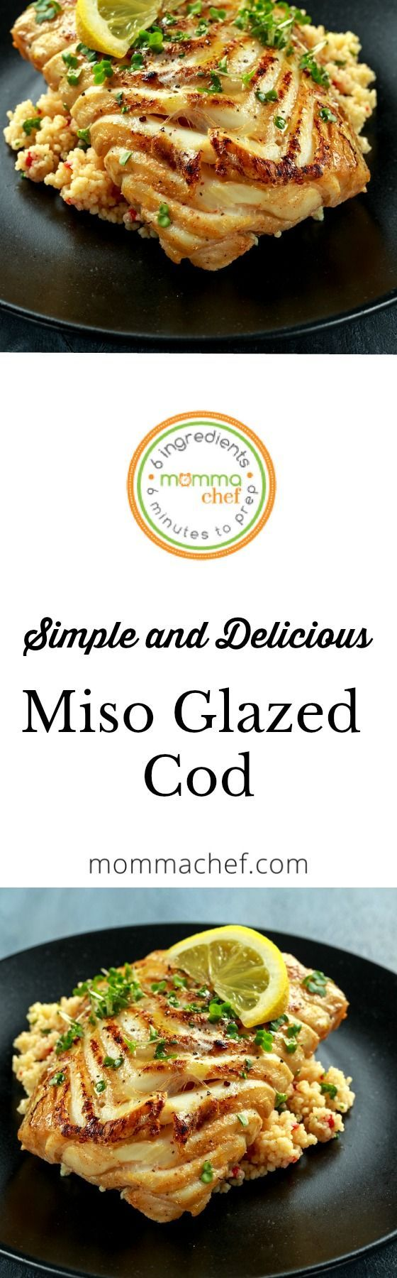 Miso Glazed Cod #athletefood