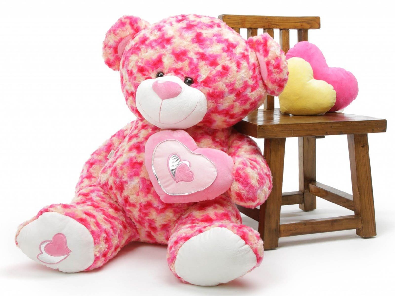 Pink Teddy Bear Hd Wallpaper Jpg 1600 1200 Teddy Bear Images Teddy Bear Pictures Teddy Bear Wallpaper