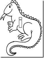 Dibujos De Iguanas Para Colorear Los Reptiles Coloring Pages
