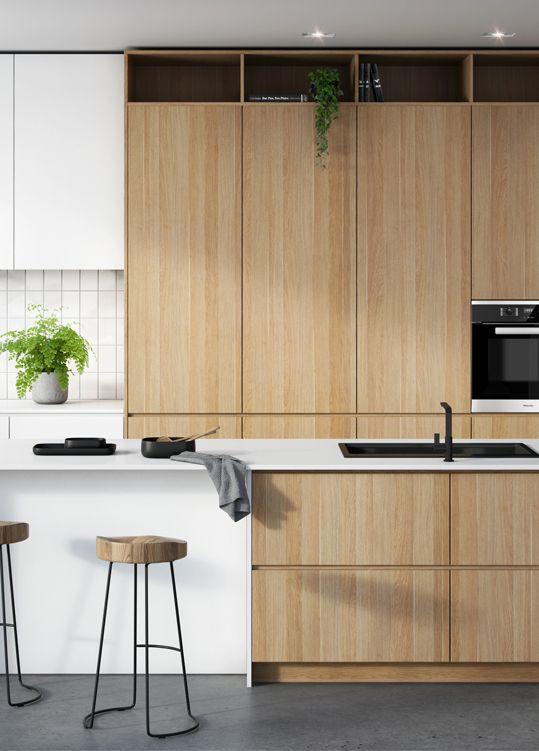 Laminex-Classic-Oak-kitchen | Kitchen backsplash designs ...