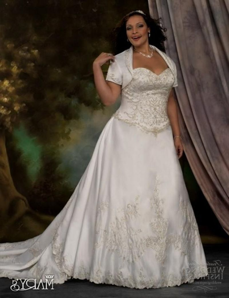 Inspirational Plus Size Wedding Dresses With Sleeves Or Jackets ...