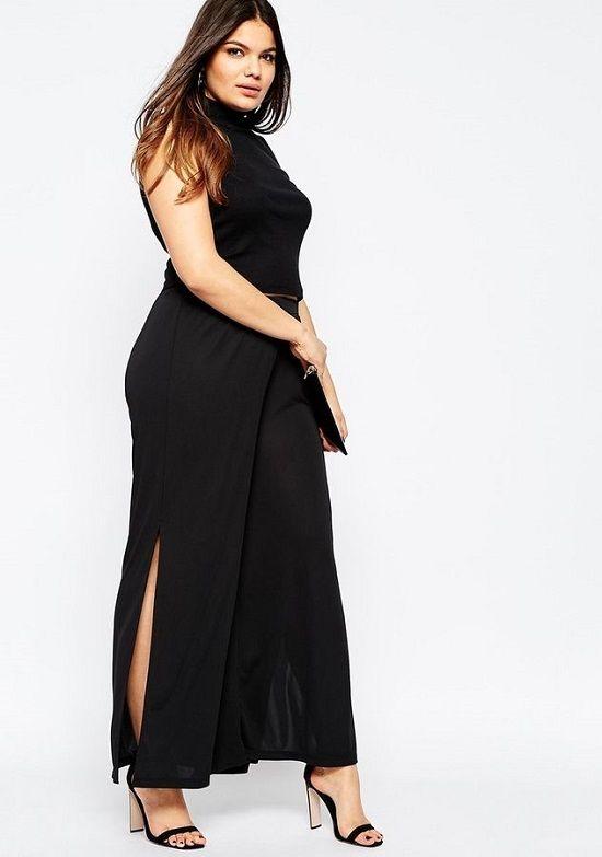 Vestidos De Noche Gorditas En Lindos Modelos Color Negro  Vestidos en  modelos hermosos color negro c7dc33793ab8