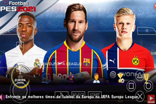 Download eFootball PES 2021 ISO PPSSPP Camera PS4 Android