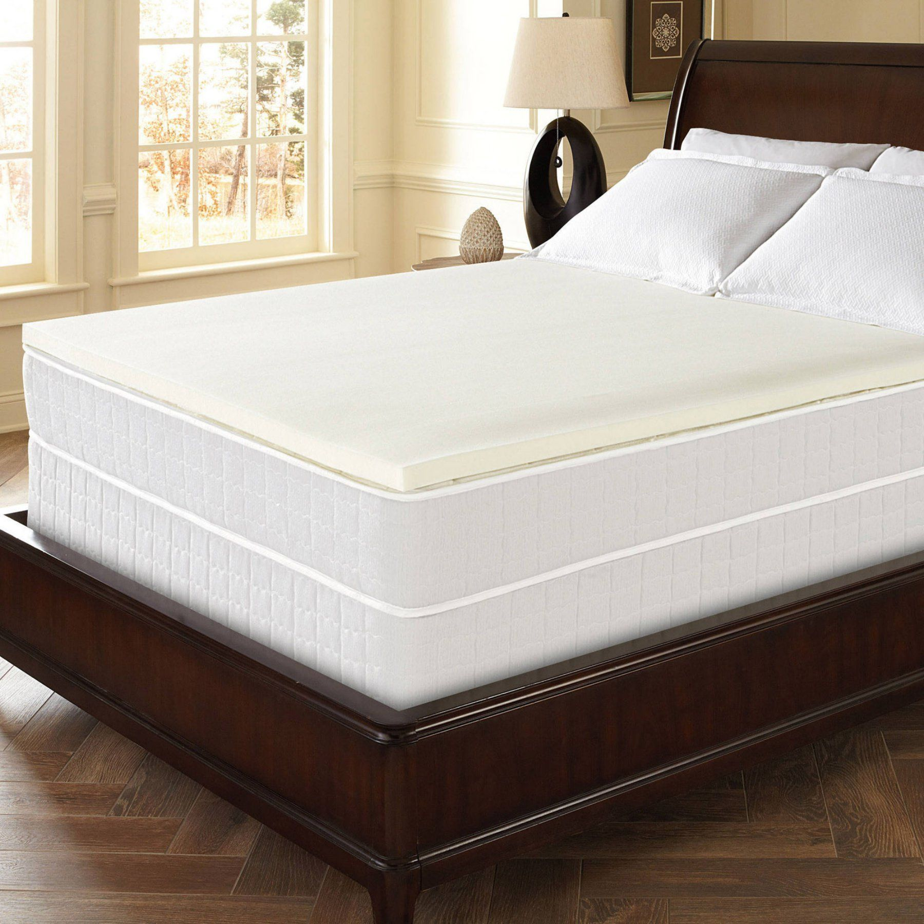 memory foam topper for a sumptuous sleep your mattress will look