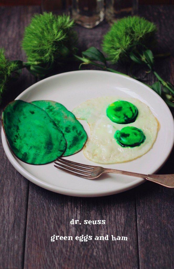 Dr. Seuss: Green Eggs and Ham #greeneggsandhamrecipe