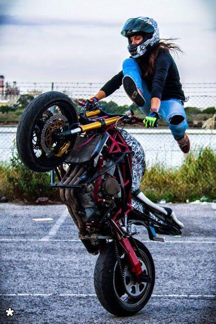 sarah lezito motorcycle for women pinterest bikers biker chick and biker girl. Black Bedroom Furniture Sets. Home Design Ideas
