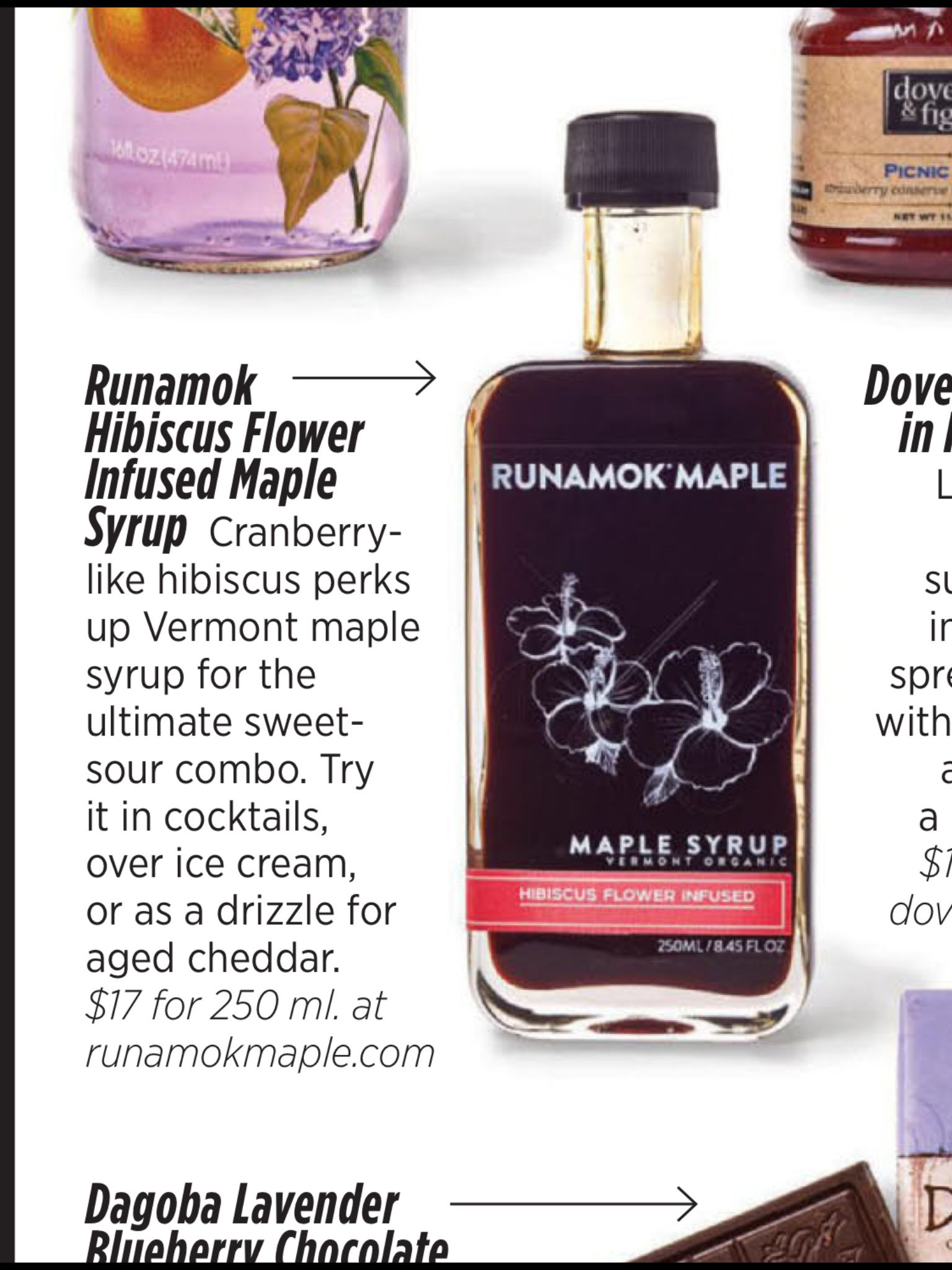 Runamok hibiscus flower infused maple syrup culinaria products runamok hibiscus flower infused maple syrup izmirmasajfo