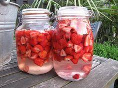 Inmaak Aardbeien op alcohol