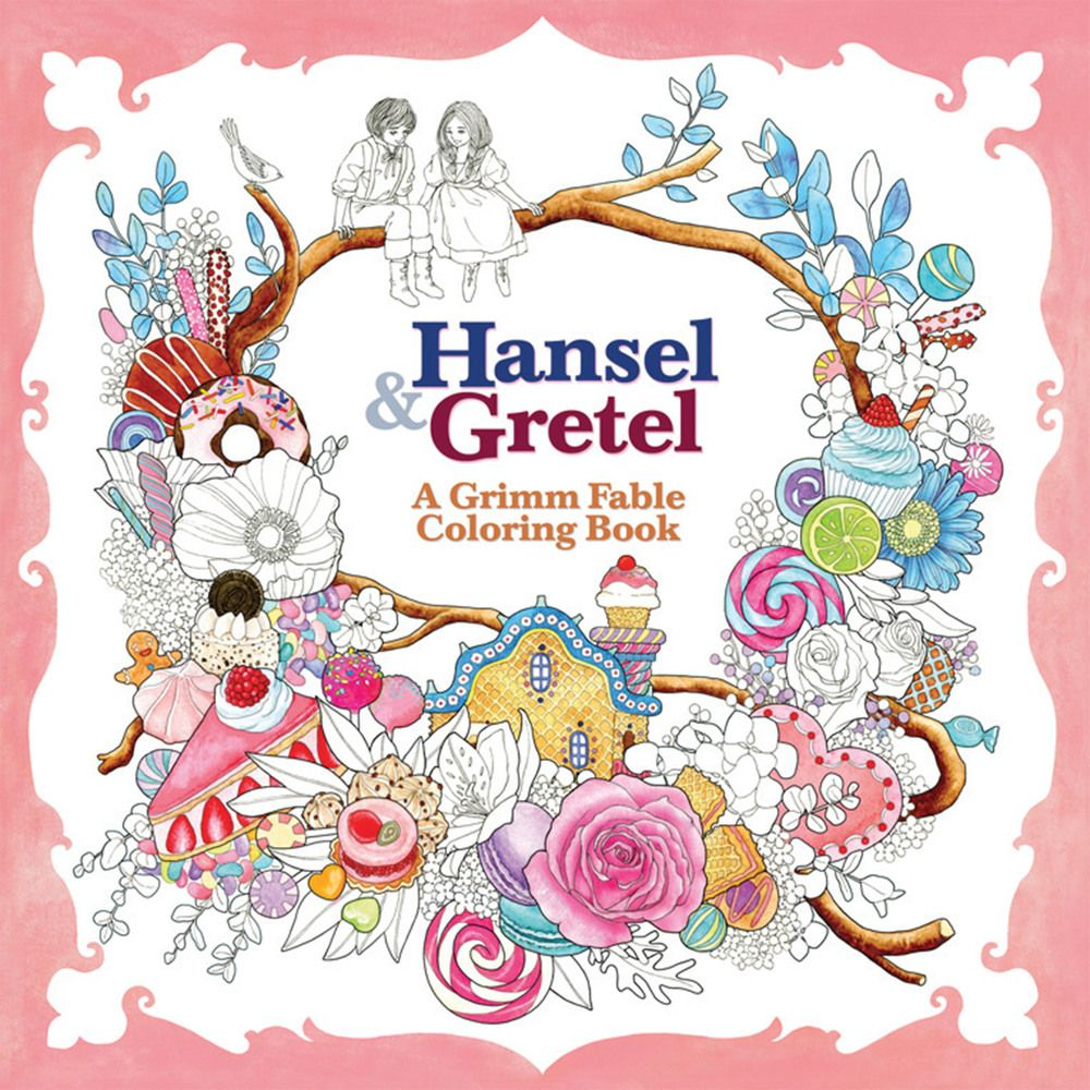 hansel and gretel grimm fable coloring book by Rosa | Colouring ...