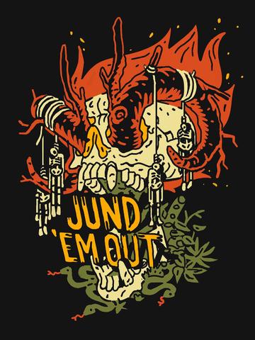 Jund Em Out Shirt Mtg Art Graphic Illustration Graphic Design Logo