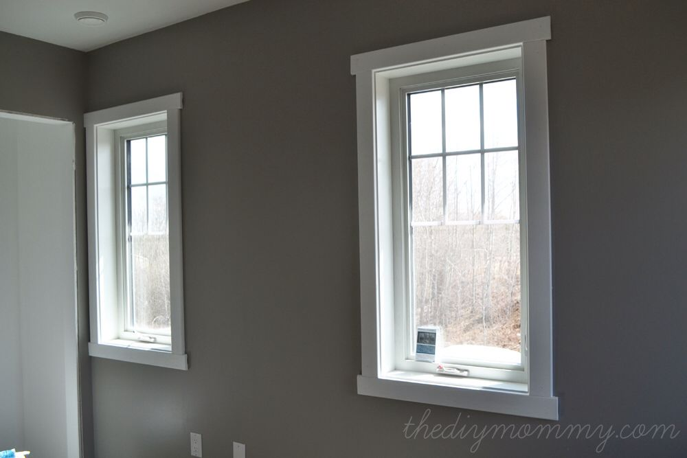 Craftsman Style Framed Windows