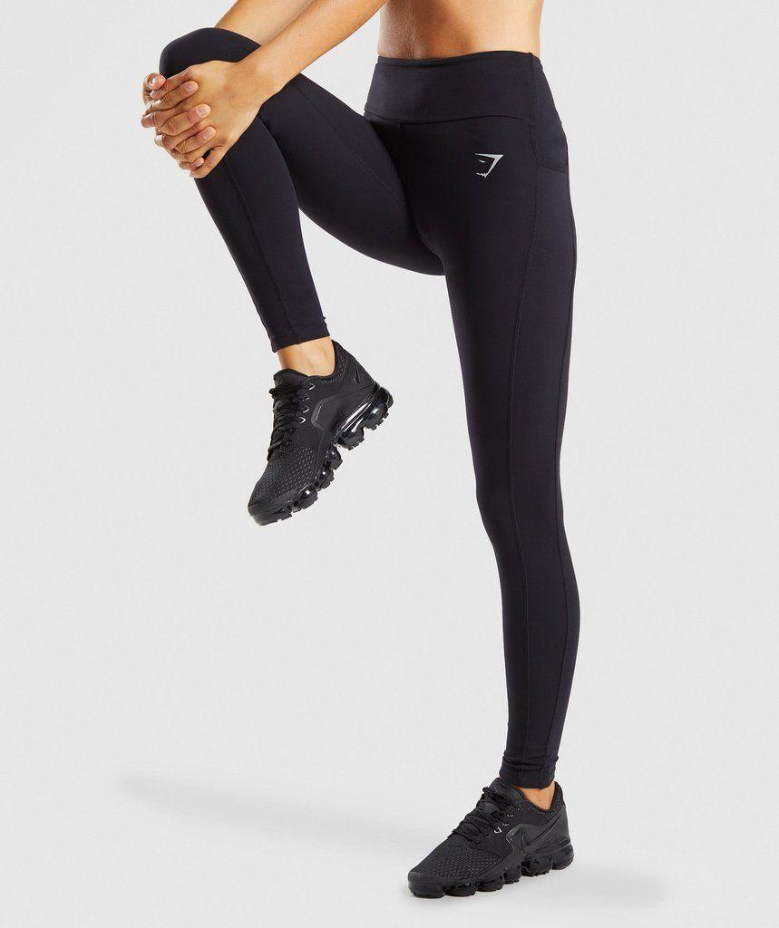 fce9b7829e1aa Gymshark Aspire Leggings - Black | Wants and wishes | Black leggings ...