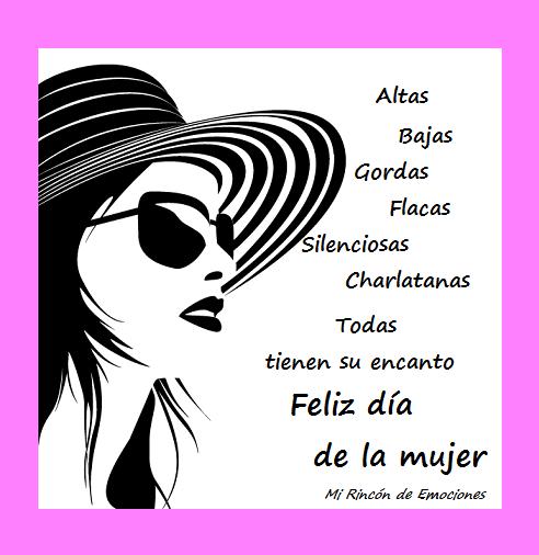 Tarjetas Con Frases Para El Día De La Mujer Siluetas Mi