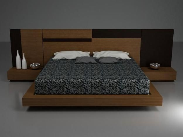 Camas modernas decoracion pinterest bedrooms bed - Camas modernas matrimoniales ...