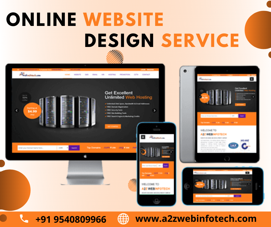 A2Z Webinfotech provides Website Designing services and creates professional websites for all sectors and industries with in a stipulated time. We design websites keeping the market-trend in mind.   #Onlinewebsitedesign #websitedesign #design #webdevelopment #website #websitedesign #onlinedesign #promotion #web #webdevelopment #onlinemarketing #webdesignservices #webdesigncompanyindelhi #webdesigncompanyindubai