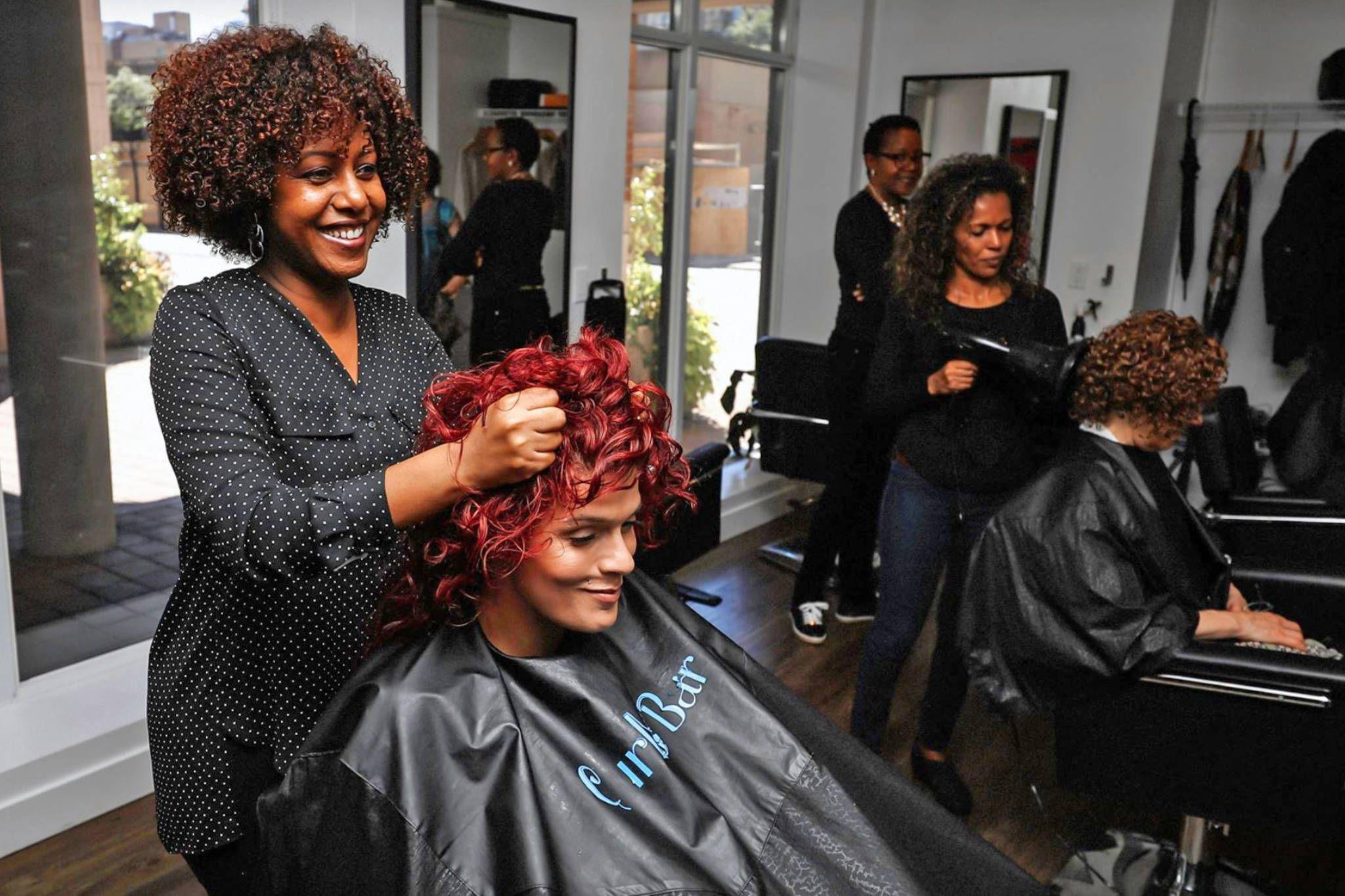 10 Top Uk Curly Natural Hair Salons Short Permed Hair Permed Hairstyles Curly Hair Styles