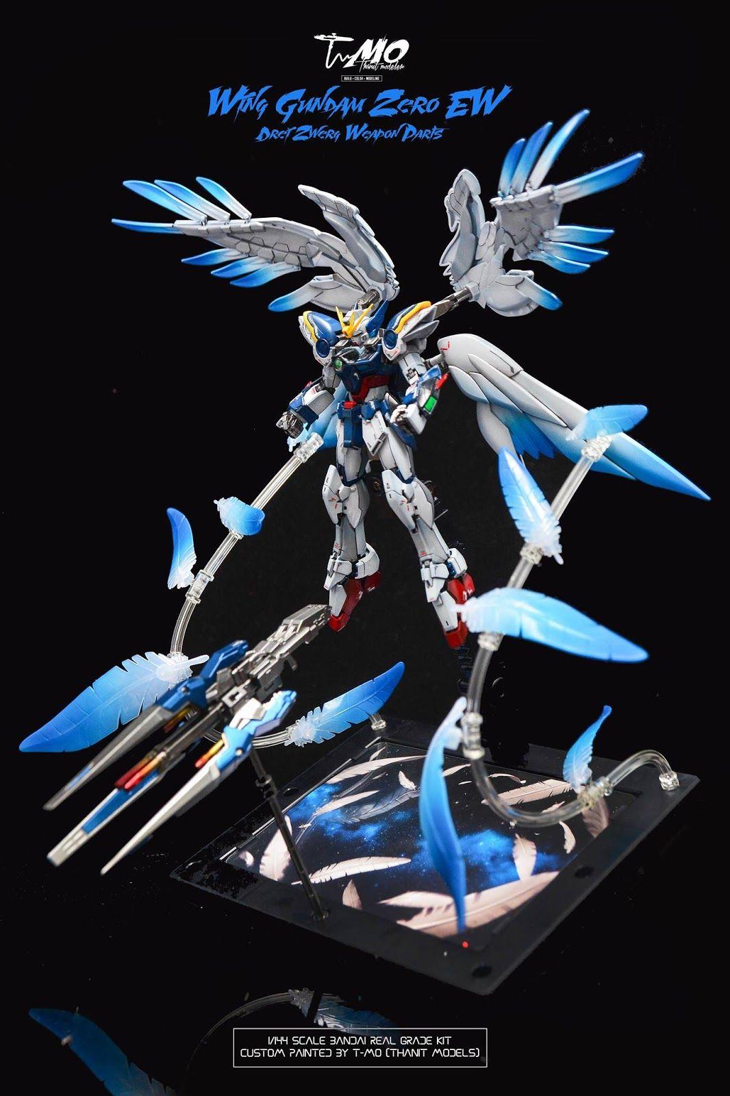 Custom Build: HiRM 1/100 Wing Gundam Zero Custom EW