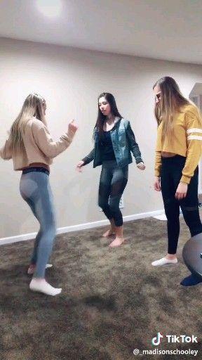 Funny dance video – yoga leggings
