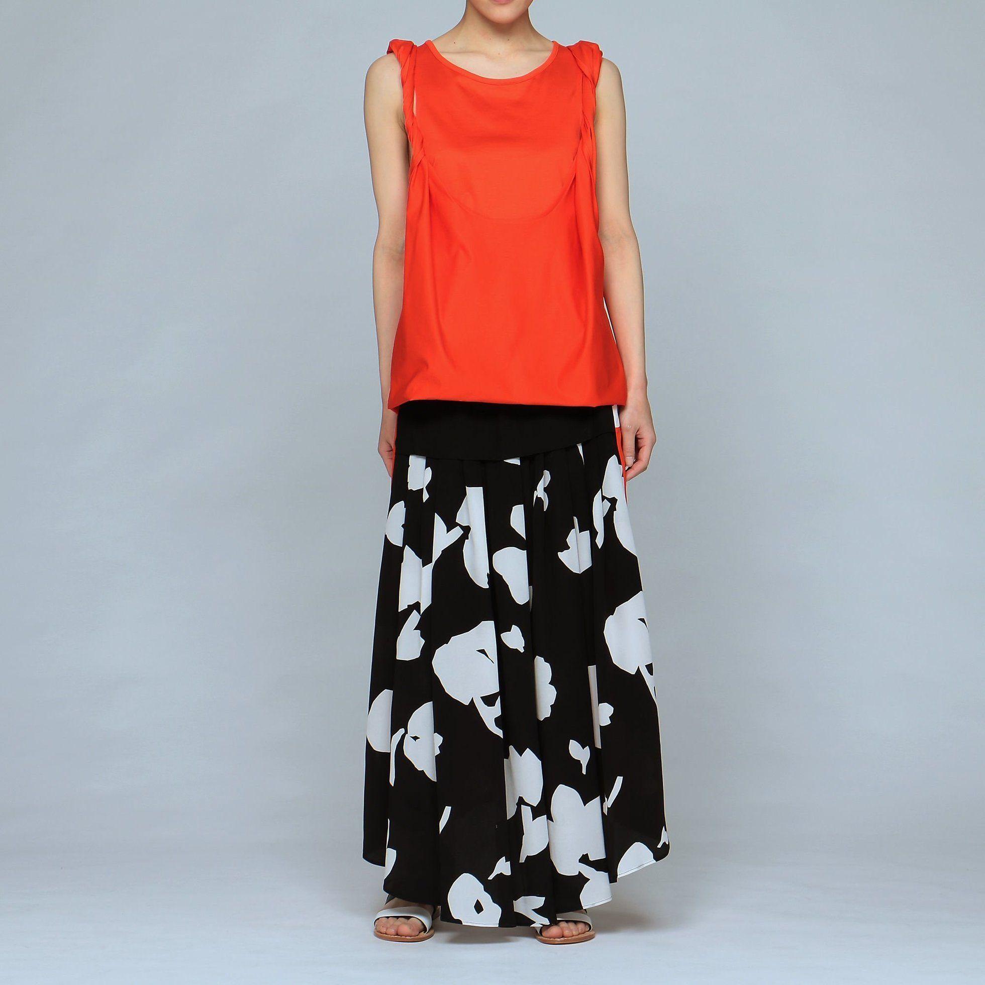 cb4821ac2ad6d 【ネヘラ/NEHERA】のtwisted shoulderstrap top レディースファッション・服の通販 founy