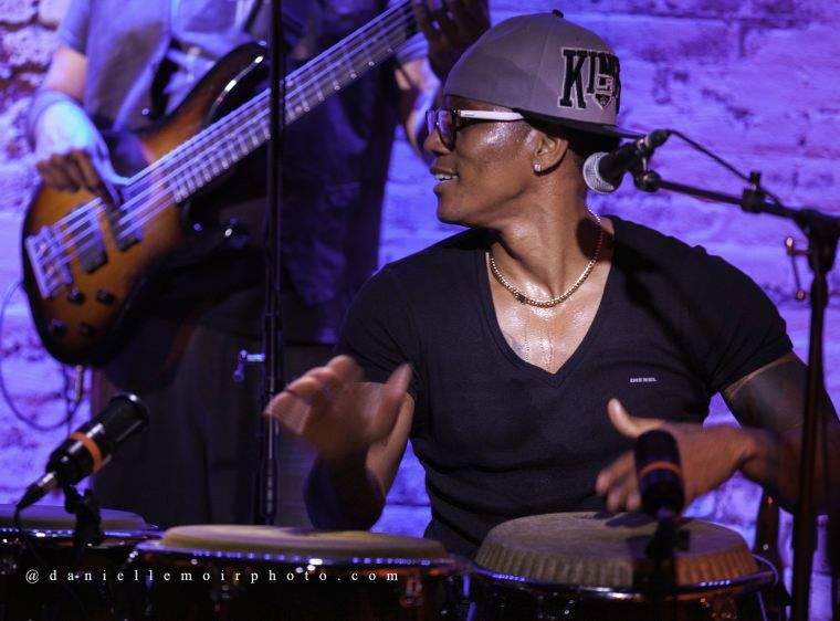 Pedrito Martinez is a celebrated Cuban percussionist who has featured on more than 100 recordings over the past 15 years. He has performed with the iconic groups Güines and Los Muñequitos de Matanzas, and now leads a traditional fusion band that borrows from a long history of traditional sounds and adds its own spin