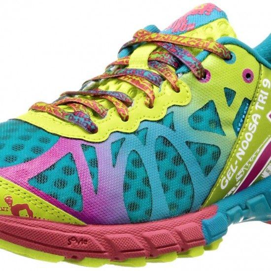 3d03cbcf1d5d ASICS GEL-Noosa Tri 9 Running Shoe Capri BlueRaspberryLime