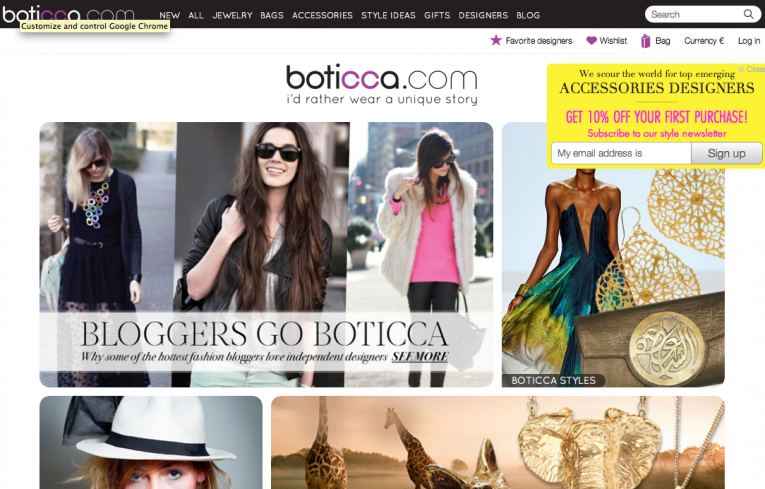 Case Study: Boticca Pinterest Page Drives More Sales Than Facebook