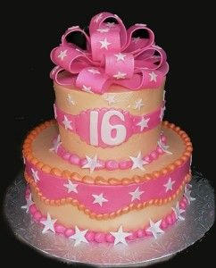 Sensational Birthday Cake 16 Years Old Girl Sweet 16 Birthday Cake Sweet Funny Birthday Cards Online Alyptdamsfinfo