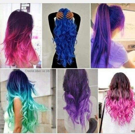 These are some really cool hair coloring ideas for the summer ...
