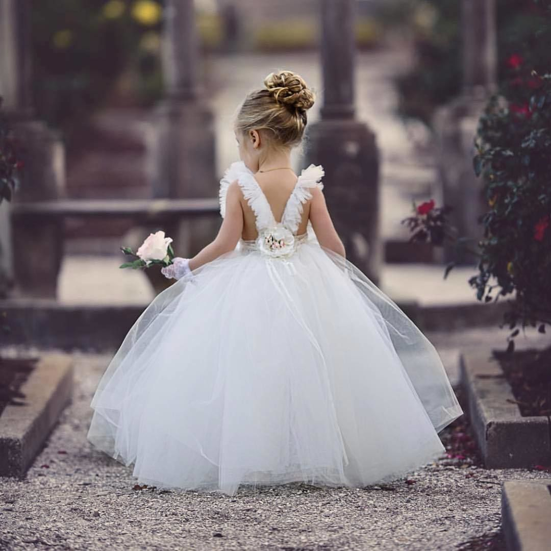 White Wedding Dress On Rent: It's Not A Perfect Wedding Without A Fairytale Flower Girl