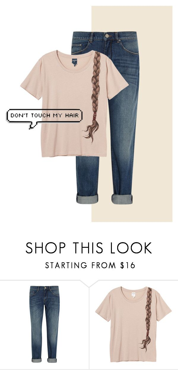 """""""Don't Touch My Hair"""" by mudpiesandbutterflies ❤ liked on Polyvore featuring beauty, dVb Victoria Beckham and Monki"""