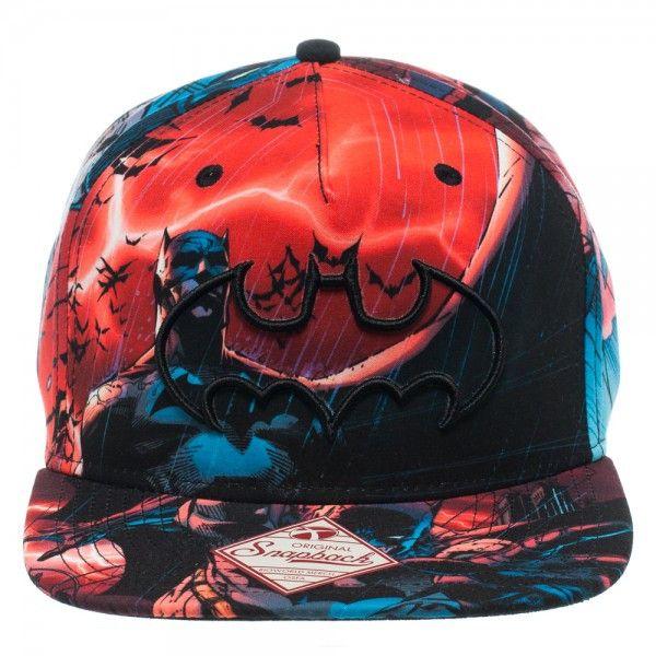 fc78356d946 Batman Multi Color Sublimated Snapback