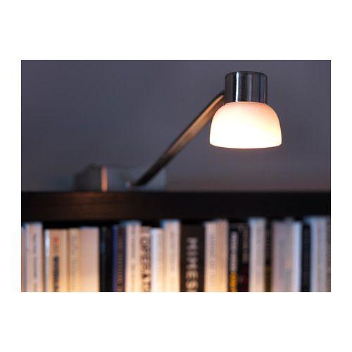 Éclairage Bibliothèque Ikea
