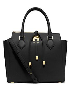 f118a3d0d Michael Kors Collection - Miranda Large Top-Zip Tote | bags ...