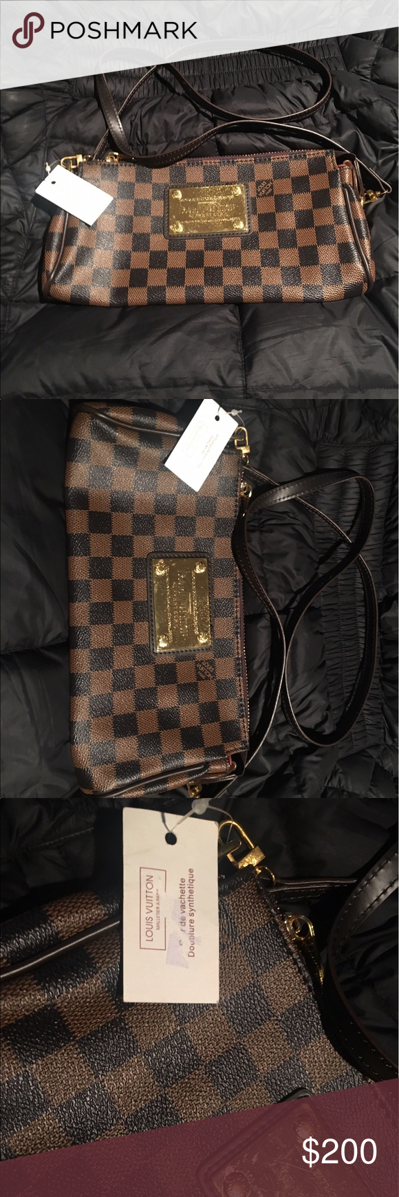 Louis Vuitton cross body bag Cross body Louis Vuitton bag. In great condition with original tag Louis Vuitton Bags Crossbody Bags