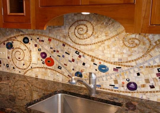 Kitchen Backsplash Mosaic For Modern House