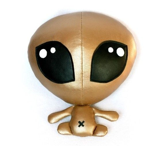 Alien Baby plush soft toy sewing Pattern - PDF | Pinterest | Stofftiere
