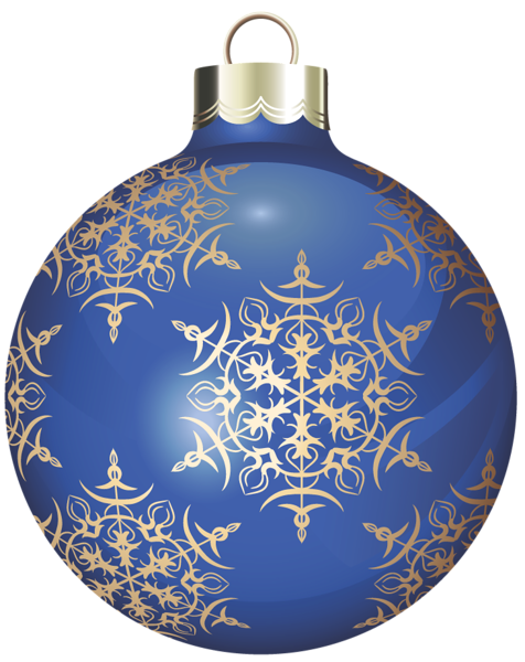 Transparent Blue And Gold Christmas Ball Clipart Christmas Balls Gold Christmas Decorations Christmas Card Crafts
