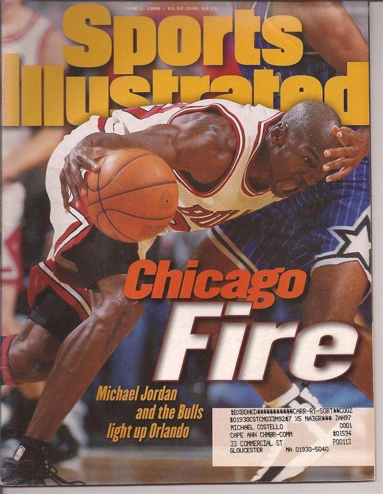 6726e3b5523d0 Details about June 3, 1991 Michael Jordan Chicago Bulls Sports ...