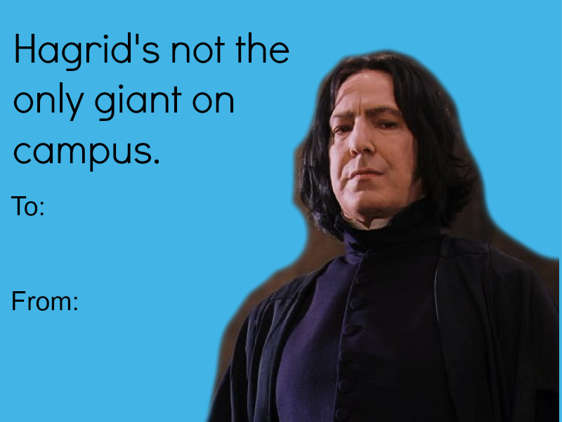 Großartig 14 Valentineu0027s Day Cards For The Harry Potter Lover In Your Life | Movie  News |