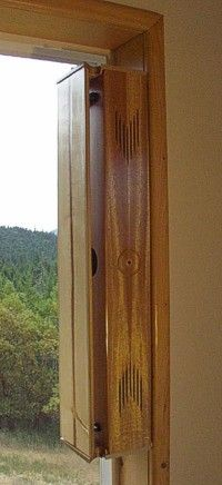 Window Harp {aeolian harp}. I neeed this.