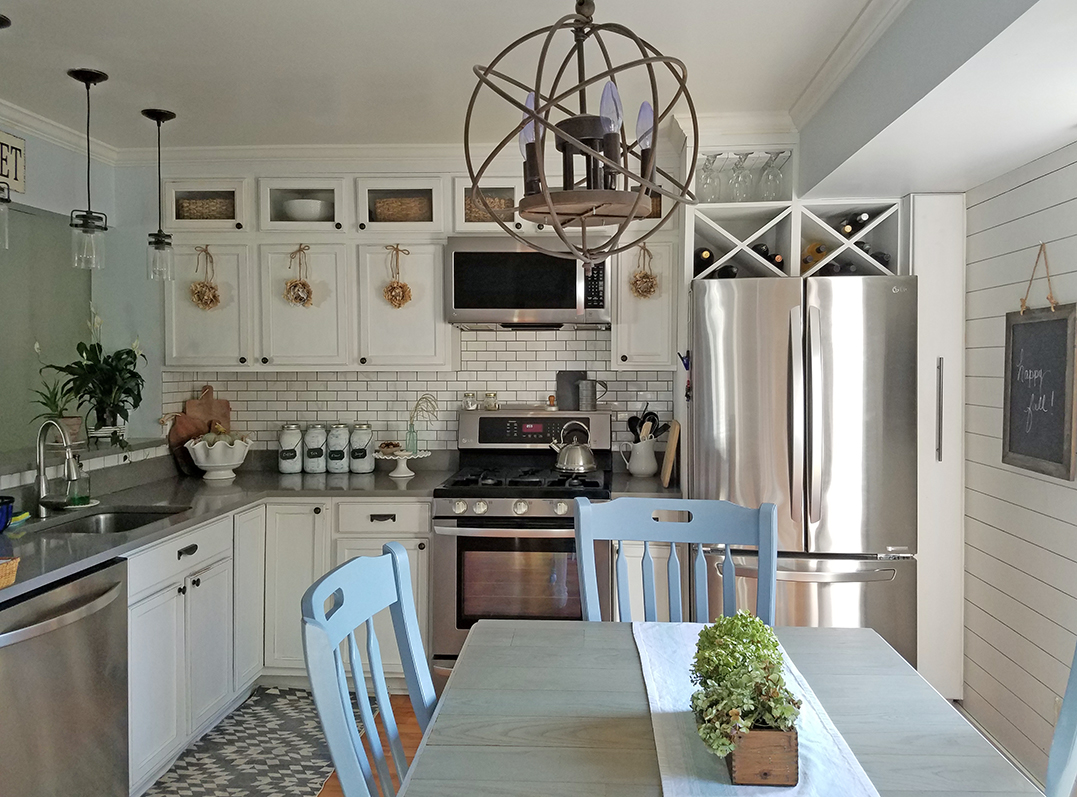 Tall Kitchen Cabinets - How to Add Height | Diy kitchen ...