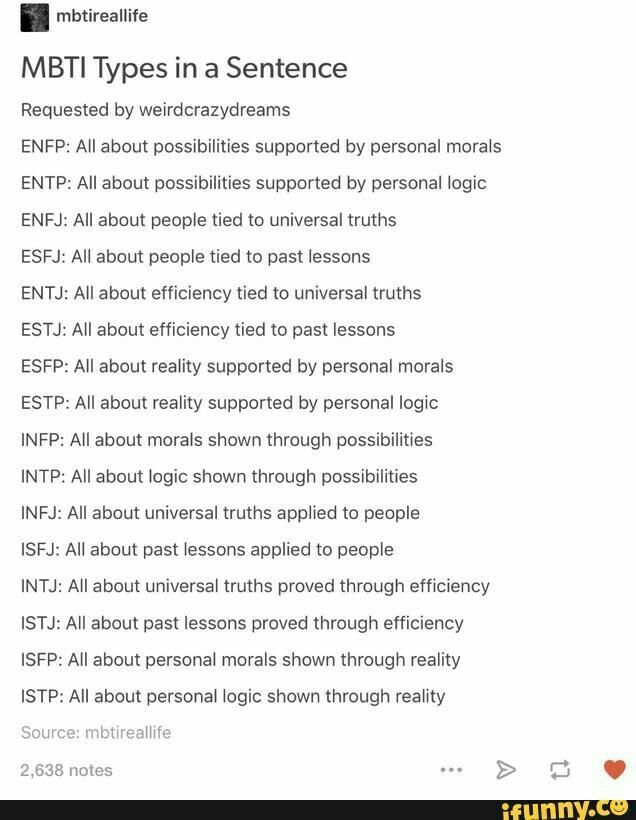 Understanding the differences between an INTJ and an ISFP