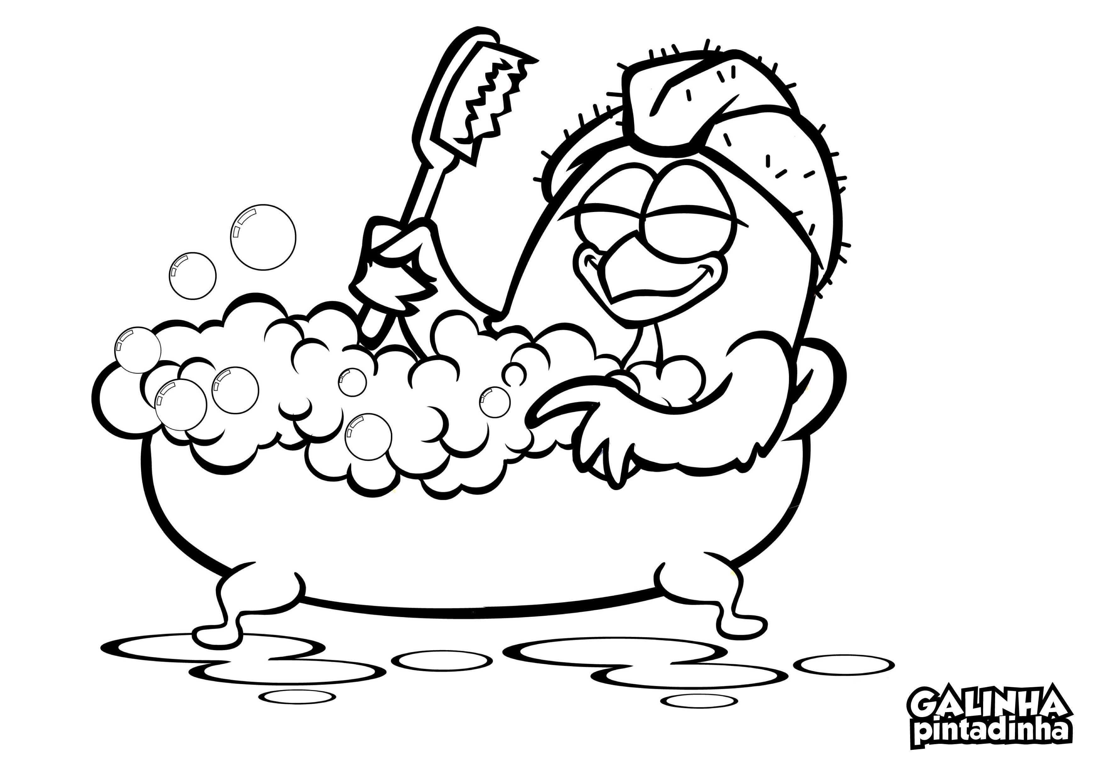 Gallos Coloridos Dibujos Animados: Dibujos De Gallinas Para Colorear E Imprimir
