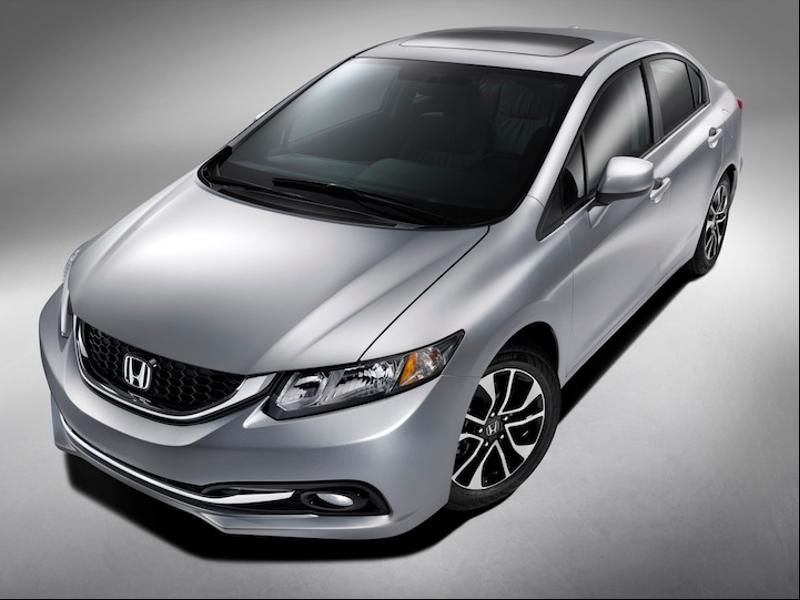 15 Est Non Hybrid Cars That Get 40 Mpg Or Better Honda Civic 31 41