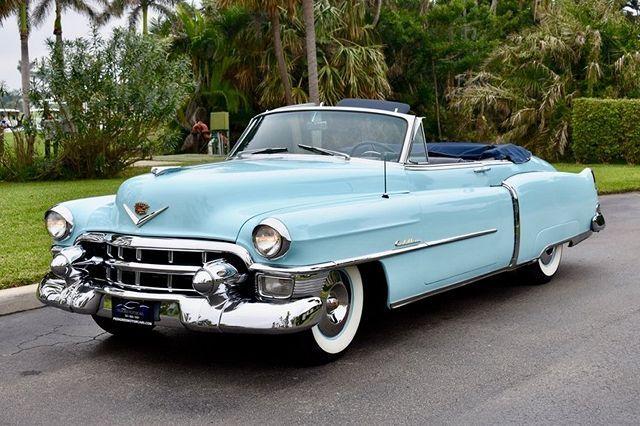 1950 bis 1959 Pink Cadillac Cabrios zum Verkauf 3