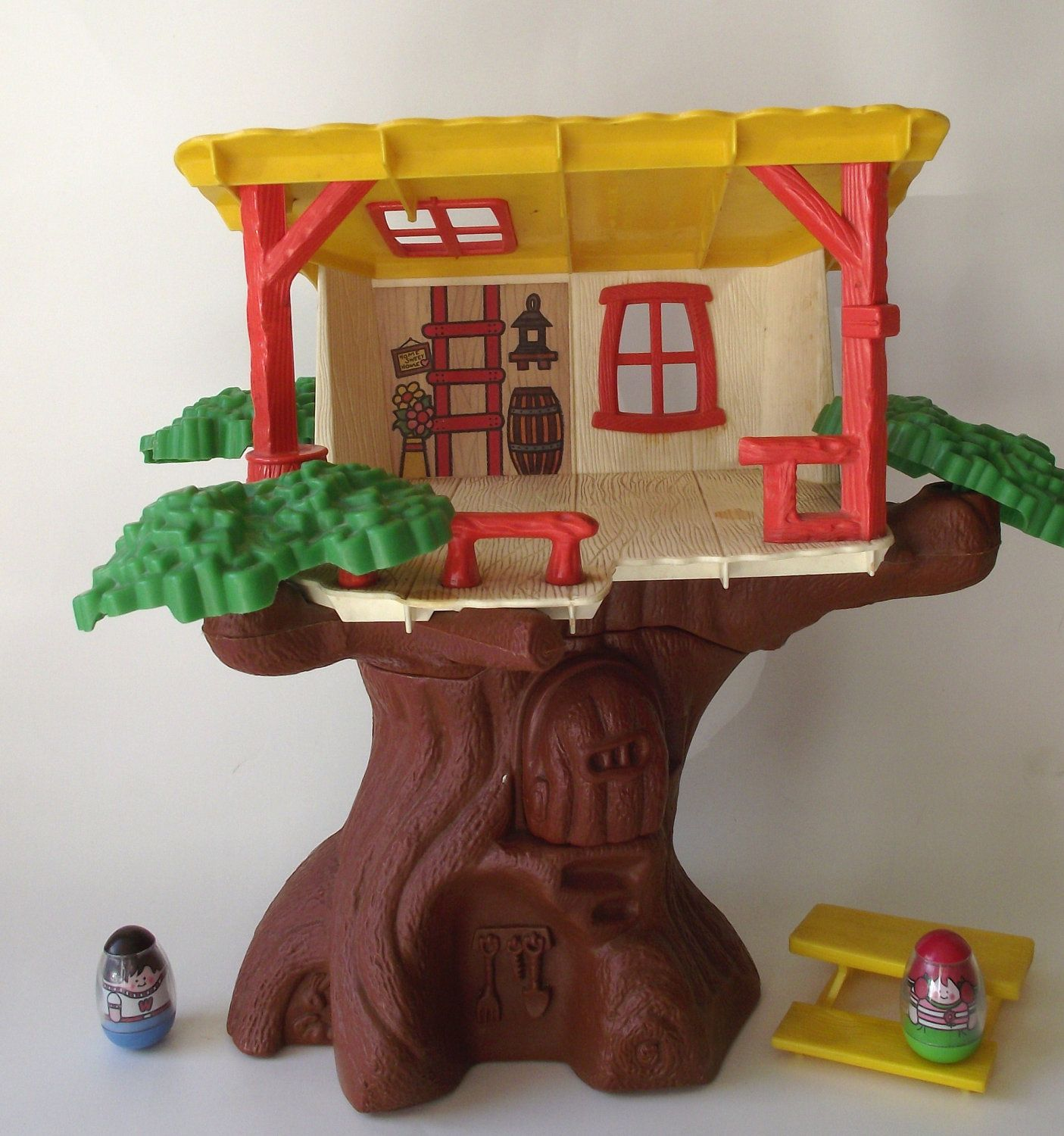 1970s Original Weeble Wobble Clubhouse Tree House | Childhood ...