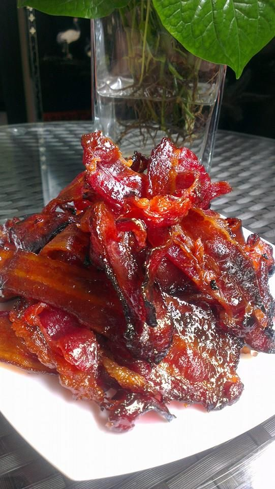 Singapore Home Cooks Honey Bbq Bacon By Ginny Chan Bbq Bacon Honey Bbq Cooking