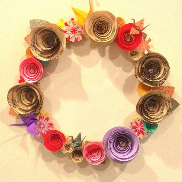 Recycled Home Decor Ideas | Paper wall decor, Recycle things and ...